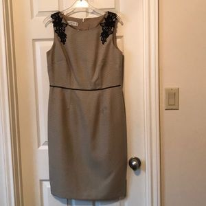 Jasper dress-gold and black